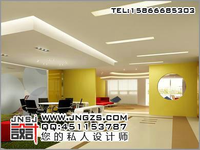办公室装修图 办公室效果图 济南设计公司,山东柜台厂,效果